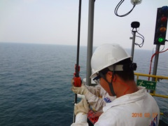 Offshore Drilling Platform Wire Rope Inspection